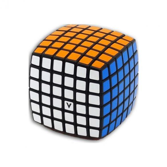 V-Cube 6x6 lekerekített versenykocka - fekete