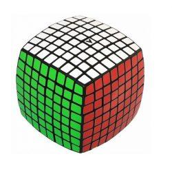 V-Cube 8x8 lekerekített versenykocka – fekete
