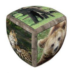 V-Cube 2x2 versenykocka - Vadállatok